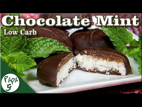 Chocolate Mint Patties – Low Carb Keto Peppermint Patty