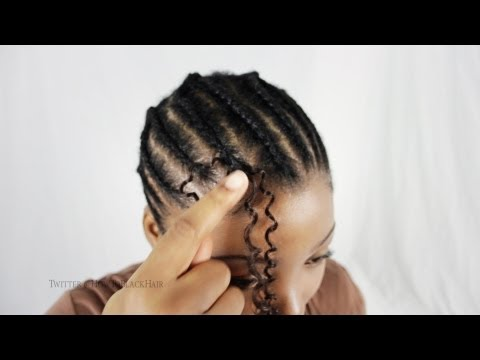 Crotchet Braids Step By Step Tutorial How To Latch Hook Hair Weave Technique & Tips Part 3