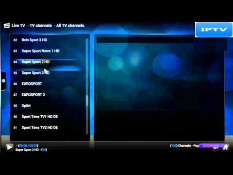 How to Look at English channels live on PC and IPTV Box with XBMC 2014/2015