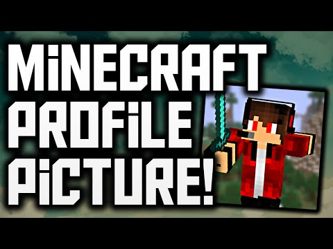How To Make A Minecraft Profile Picture For YouTube (FREE)!