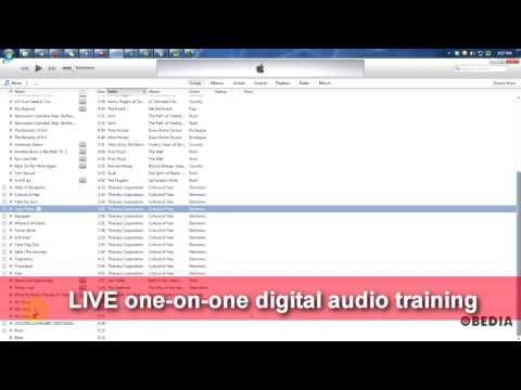 How to convert .wav to .mp3 using iTunes