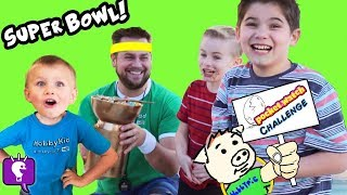RACE to Open 4 SURPRISE Boxes! Challenge Game with HobbyKids