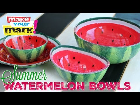 How to: Summer Watermelon Bowls