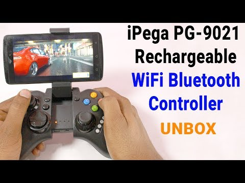 iPega PG-9021 Rechargeable WiFi Bluetooth Game Controller UNBOXING & TESTING