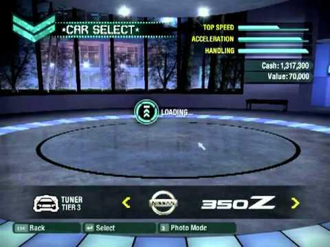 Need For Speed Carbon - All Unlocked n Bonus Cars
