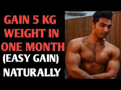 How to gain 5kg lean muscle mass in 1 month