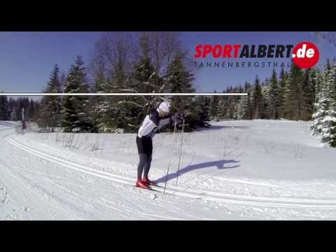 Cross-country skiing technique: Classic double-pole