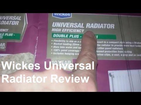 Wickes Universal Radiator Review Double Plus Type 21