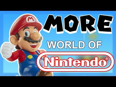 MORE WORLD OF NINTENDO!  WAVE 2-5 - 2.5 INCH FIGURES!