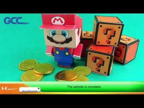 GCC---Cute Mario Paper Figure by GCC Scrapbook Cutter