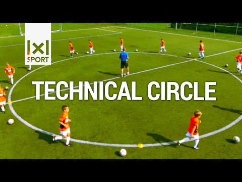 ⚽ Technical Circle - Creative Football/ Soccer Activity for Kids - Soccer Drills
