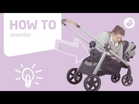 Maxi-Cosi | Zelia stroller | How to assemble