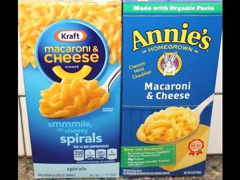 Macaroni & Cheese: Kraft vs Annie's Comparison & Review