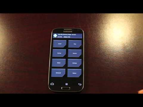 Verizon Galaxy S4 How To Boot Into Recovery From Powered On or Off