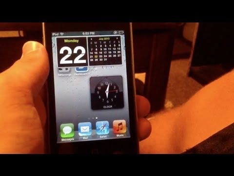 How to Get Widgets on iPhone, iPad, and iPod Touch! (iOS 2013)