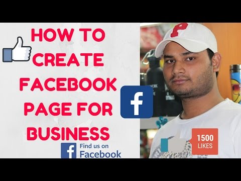how to create Facebook fan page for business [Hindi]