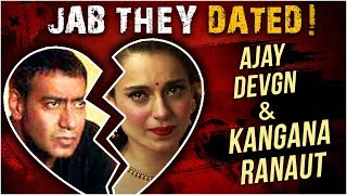 Kangana Ranaut Ajay Devgn THE CONTROVERSIAL AFFAIR | Jab They Dated Episode 4