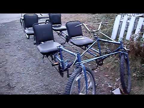 The Magic BIKE BUS TOWED! -- Final video of DIY Homebuilt Bike Car