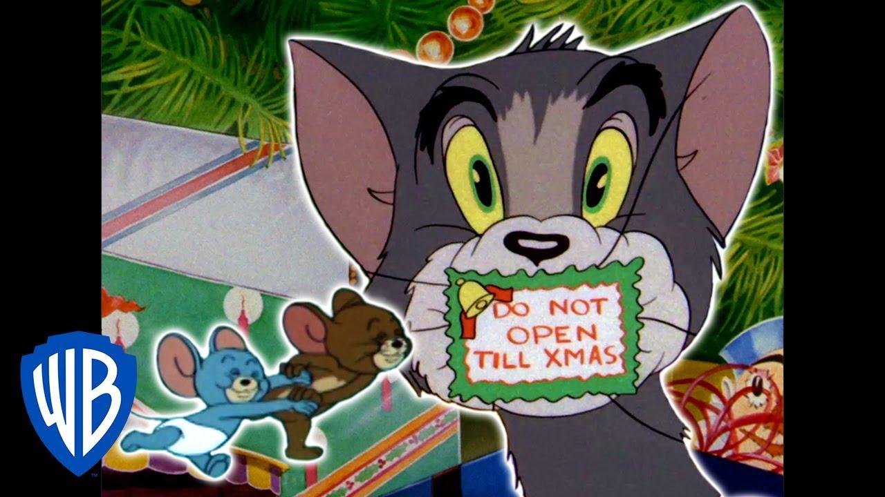 Tom & Jerry | Home for Christmas | Classic Cartoon Compilation | WB Kids