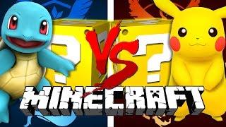 Minecraft | POKEMON GO LUCKY BLOCK CHALLENGE | TEAM MYSTIC OP!!