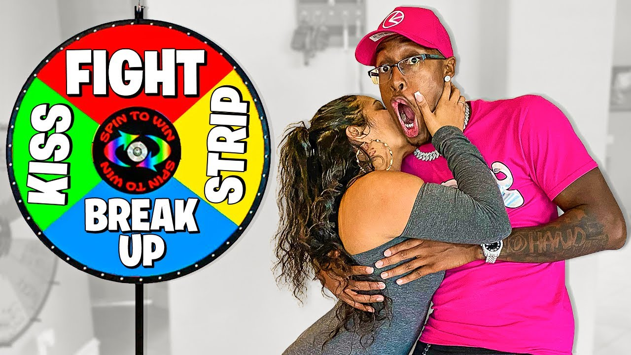 Spin The MYSTERY Wheel Challenge Truth Or Dare ( 1 Spin = 1 Dare )