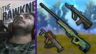 AWM, AUG, GROZA, FLARE GUN IN THE SAME GAME | PUBG MOBILE HIGHLIGHT