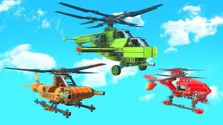 BUILD A HELICOPTER CHALLENGE! (Trailmakers)
