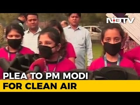Delhi's Children Decided To Dedicate Children's Day To Fight For Swachh Air