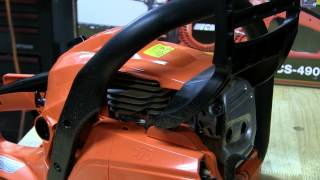 Echo CS-500P Stock , Muffler Mod and Ported chainsaw