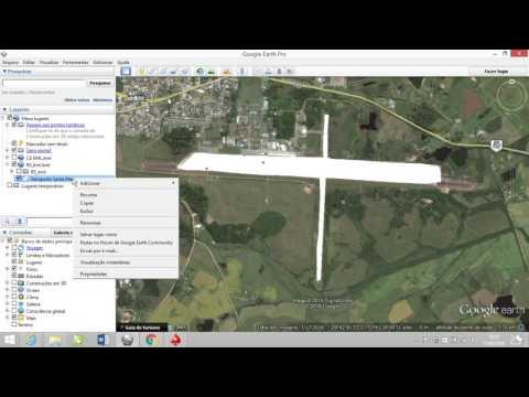 Criar KML ou KMZ com o Google Earth / Create KML or KMZ with Google Earth