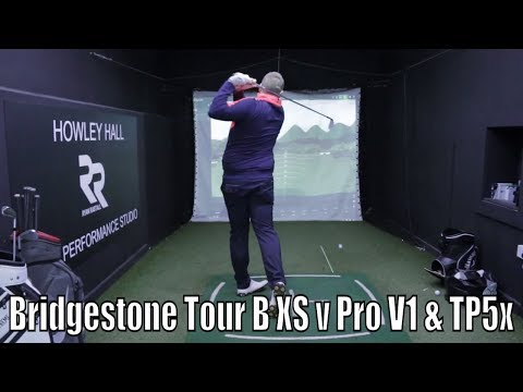 Bridgestone Tour B XS v Pro V1 & TP5x