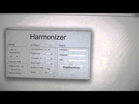 Automatically harmonize any melody!