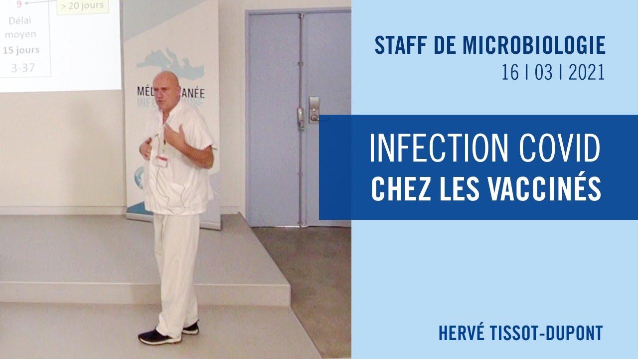 Infection COVID chez les vaccinés