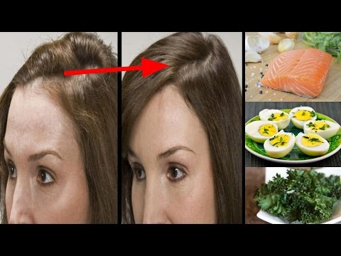 5 Foods For Naturally Thicker Hair