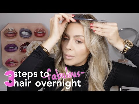 3 Easy Steps to get Fabulous Hair Overnight
