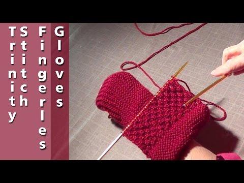 Long Cuff Fingerless Gloves | Long Fingerless Mittens | Knitted Mitt