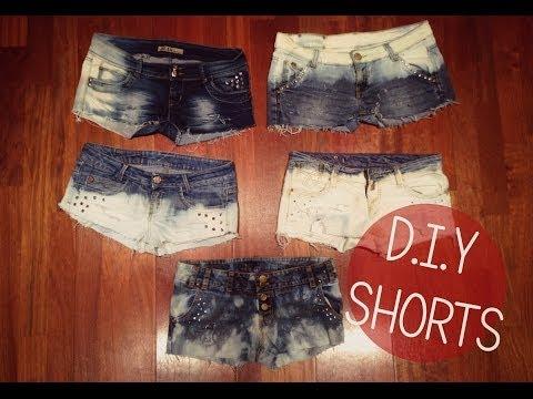 Todo acerca de los shorts o pantalones cortos.