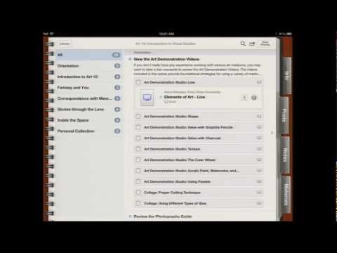 TLT Symposium 2013: Art 10 and iTunes U: A Match Made for the iPad