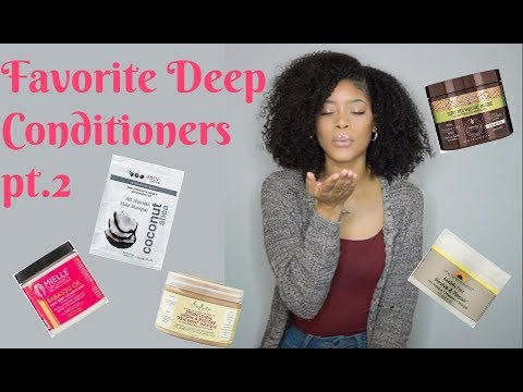 Favorite Deep Conditioners for Natural Hair pt 2