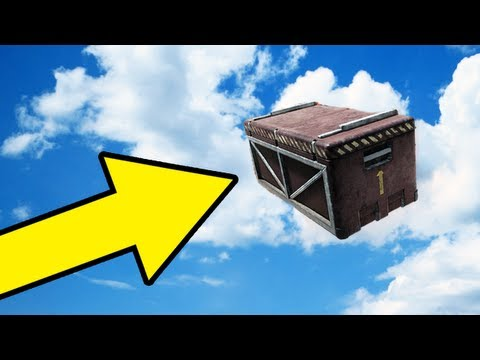 Biggest Care Package Bounce Ever in Black Ops 2! (Funny BO2 Glitches)