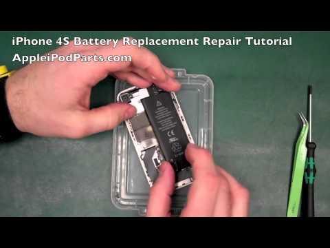 iPhone 4S Genuine Battery Replacement Repair Guide Tutorial