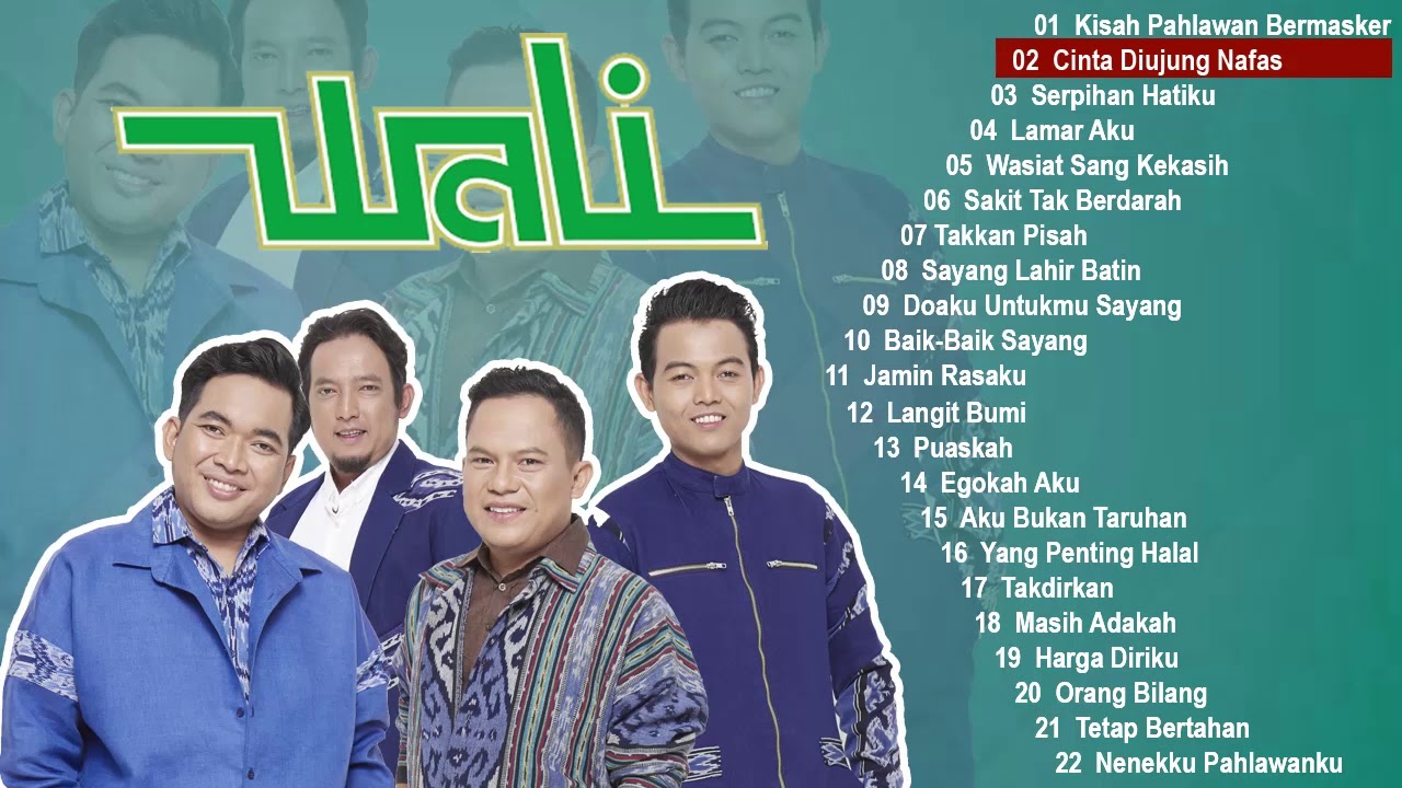 Download 22 HITS LAGU WALI BAND TERBARU 2020 TERPOPULER MP3 Gratis
