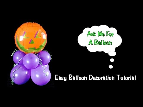 Easy Balloon Decoration Tutorial - Party Idea