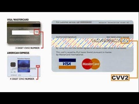 Kode CVV dan CVC Kartu atm dan Kartu Kredit