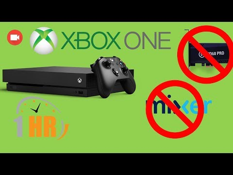How To Record Gameplay On Xbox One UPTO 1 HOUR!!!! NO CAPTURE CARD OR STREAMING!!!