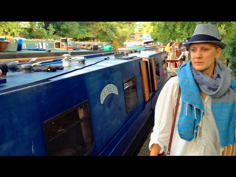 Visiting a House Boat in London (boat to live on)