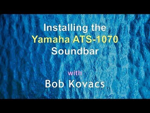 Installing the Yamaha ATS-1070 Soundbar