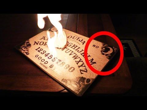 Ouija board caught on FIRE! - Season 12 Ep 24
