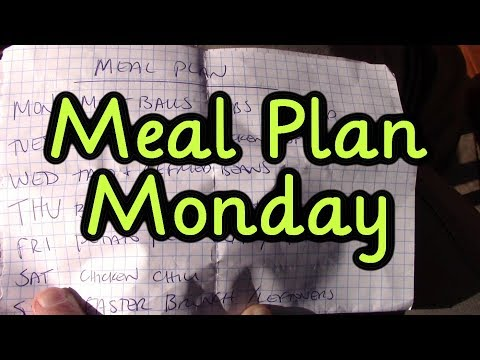 Meal Plan Monday #13 March 26, 2018