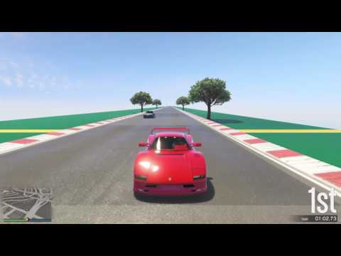 GTA 5 Top Speed Drag Race (Turismo Classic vs. Pigalle)